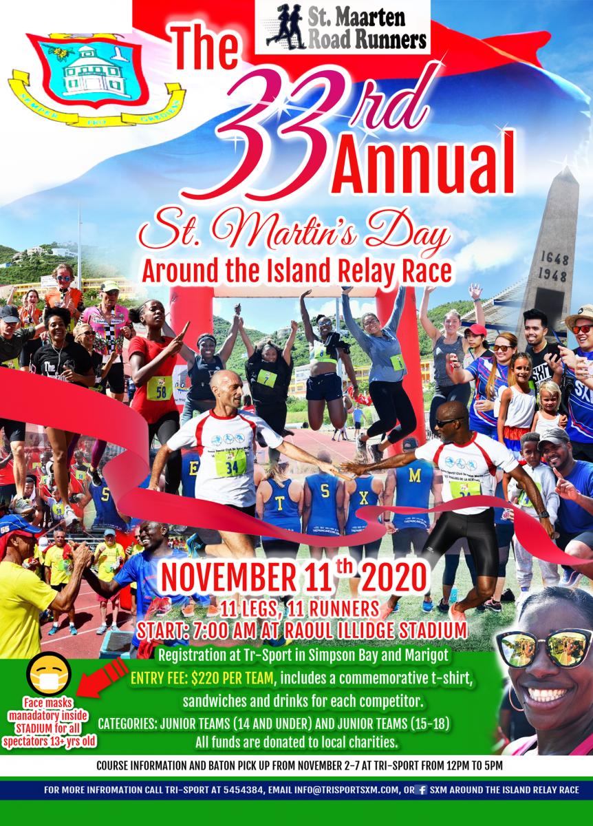 St. Maarten's Day Relay Race