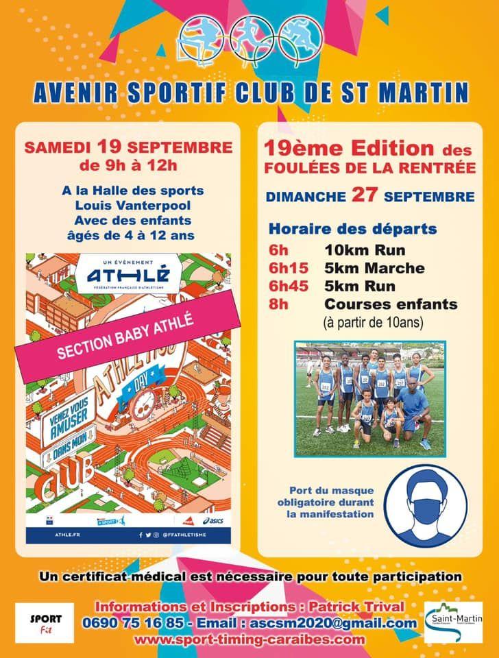 Avenir Sportif's 5 & 10K Run