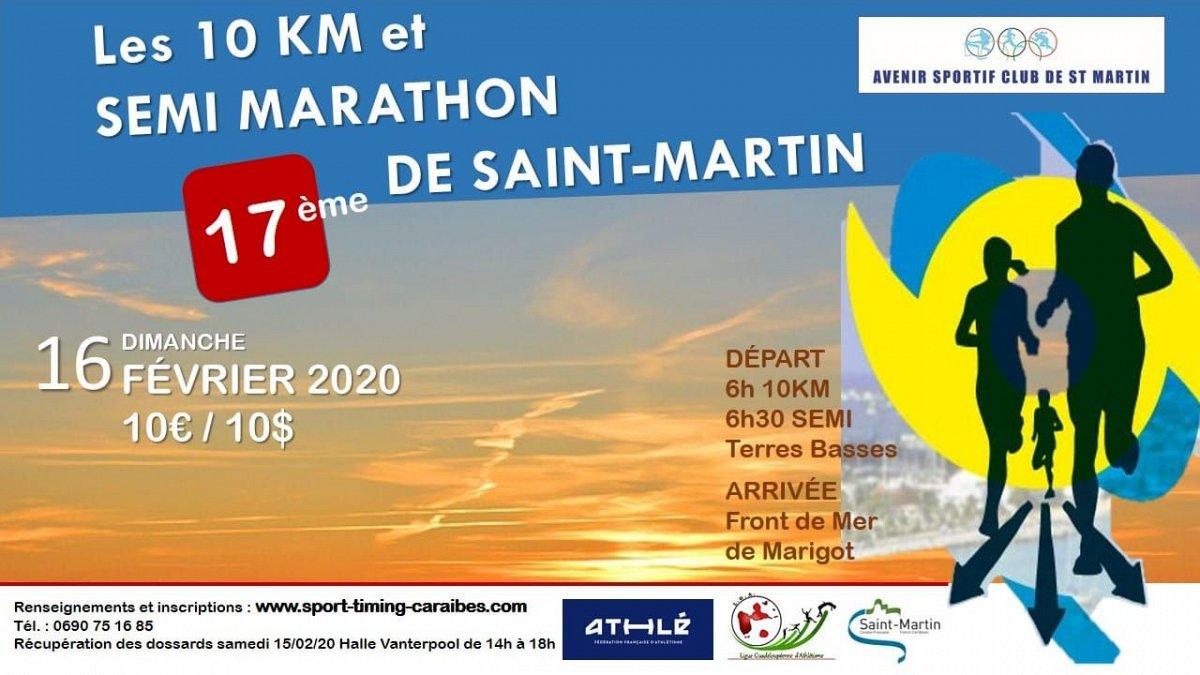 Les 10Km et Semi Marathon de Saint Martin