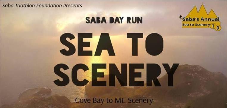 Saba Sea to Scenery 6K Run