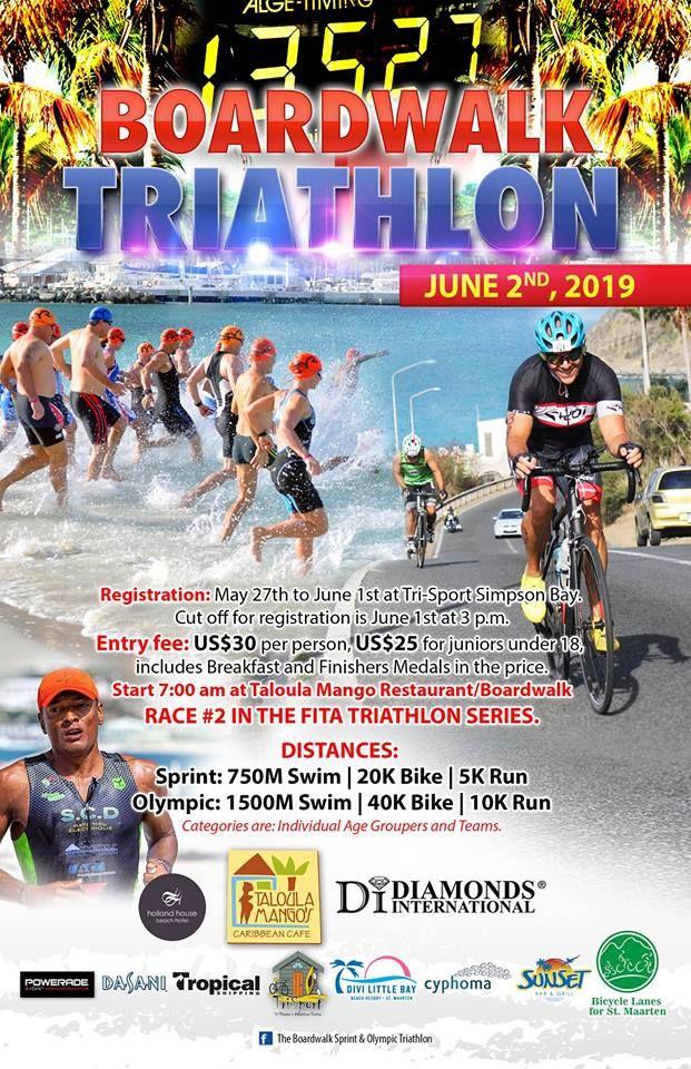 the 2019 Boardwalk Triathlon