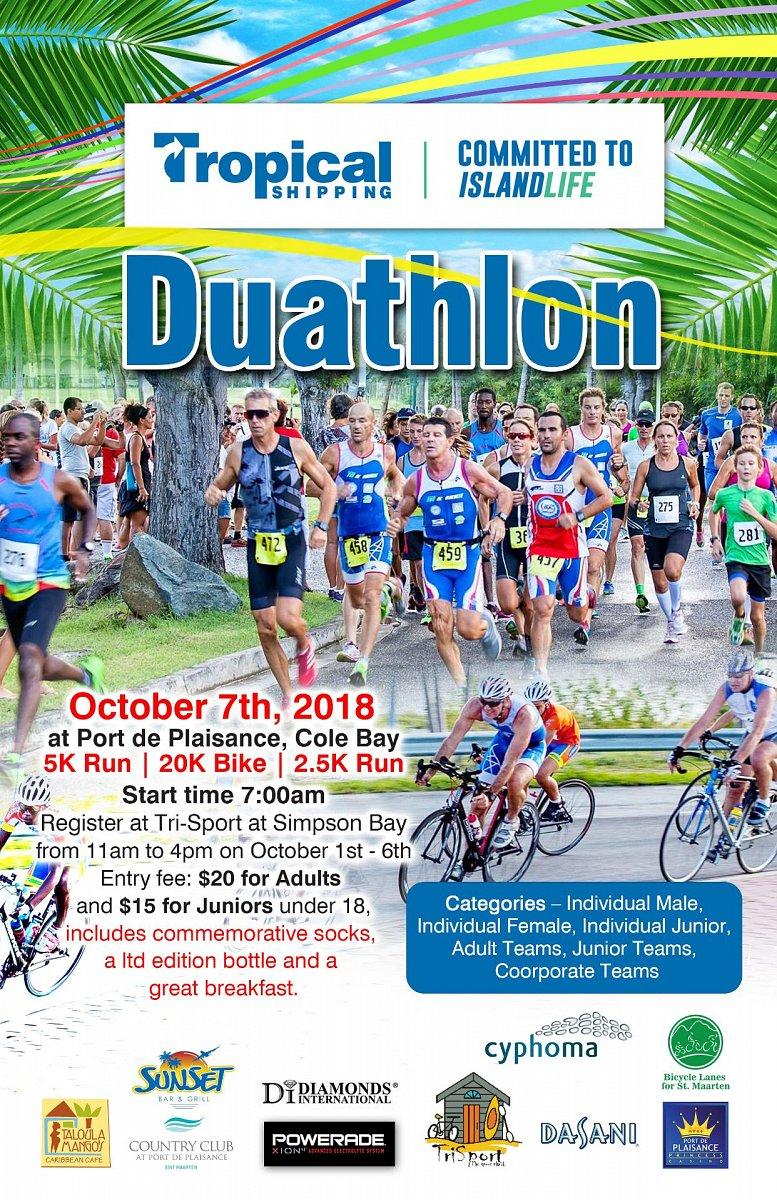 Tropical Shipping Duathlon