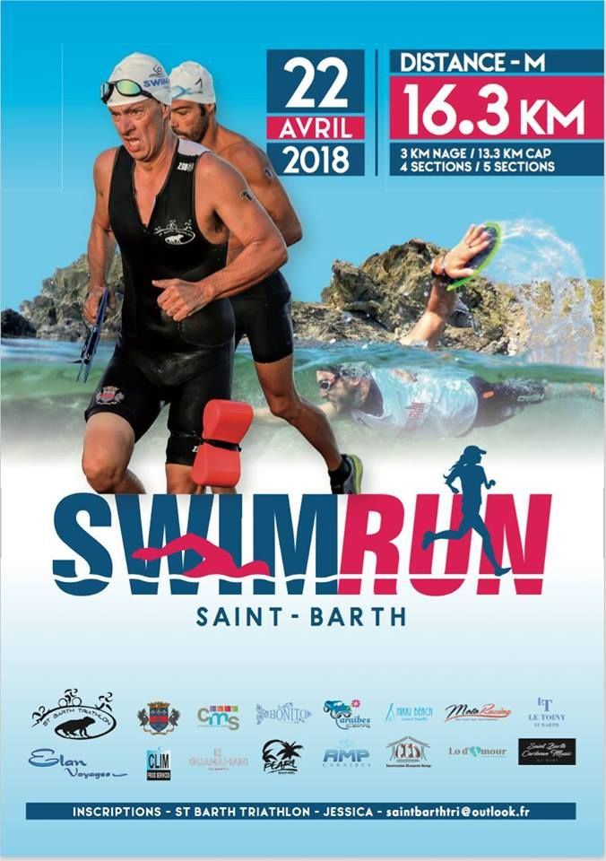 Swim Run St. Barth