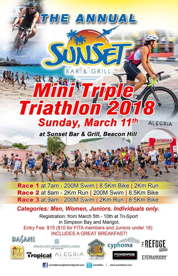 Sunset Mini Triple Triathlon