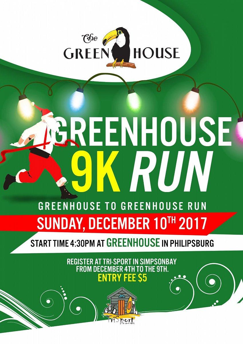 Greenhouse to Greenhouse 9K Run & Walk