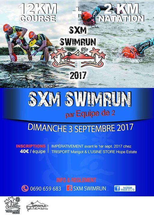 SXM Swim Run